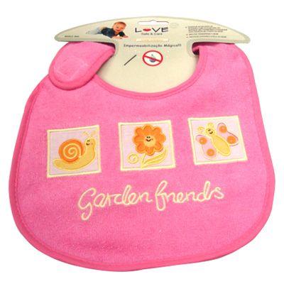 Babador-Atoalhado-de-Algodao-Bichos-Garden-ftrends-rosa