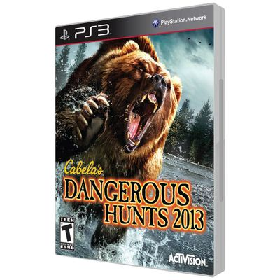 Jogo-PS3-Dangerous-Hunts-2013