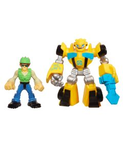 Bonecos-Transformers-Rescue-Bots-Bumblebee-e-Graham-Burns-Hasbro