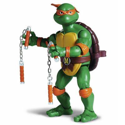 Boneco Retro Tartarugas Ninja Michelangelo 15 Cm Multikids