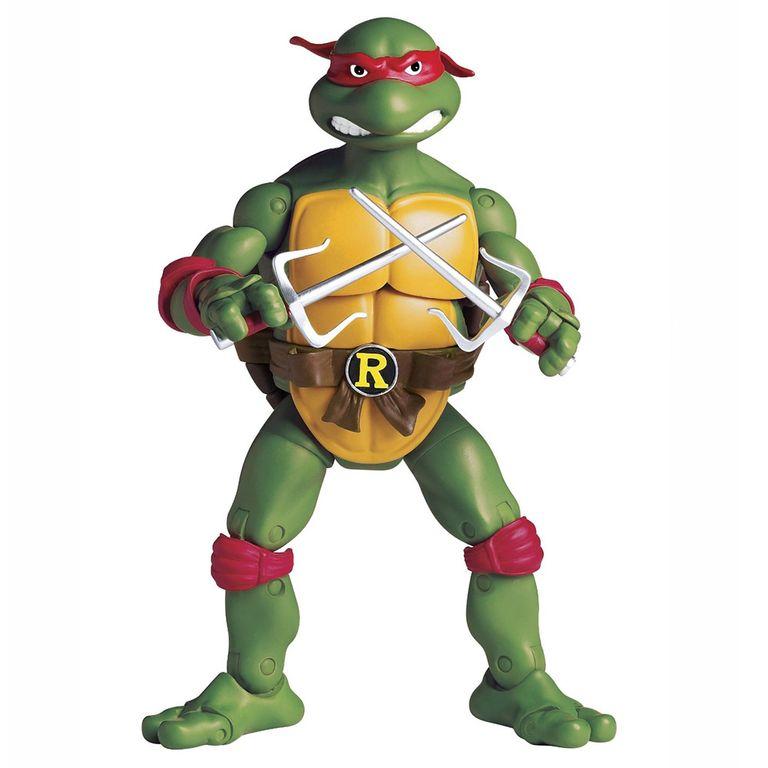 Boneco Retro Tartarugas Ninja Raphael 15 Cm Multikids Ri
