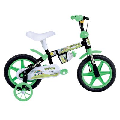 Bicicleta-Aro-12-Mini-Boy-Preta-e-Verde-Houston