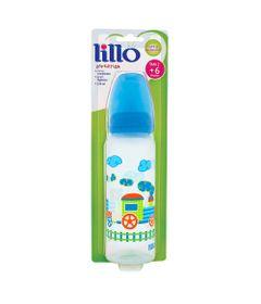Mamadeira-Divertida-Ortodontica-Silicone-240-ml-Trenzinho-Azul---Lillo