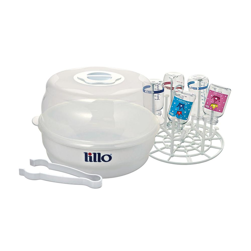 Esterilizador de Micro-ondas a vapor Branco - Lillo
