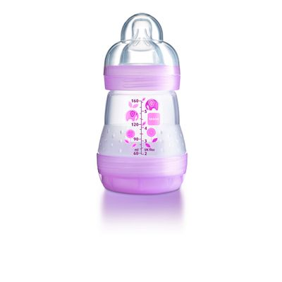 Mamadeira-First-Bottle-Girls-160-ml---Rosa---MAM