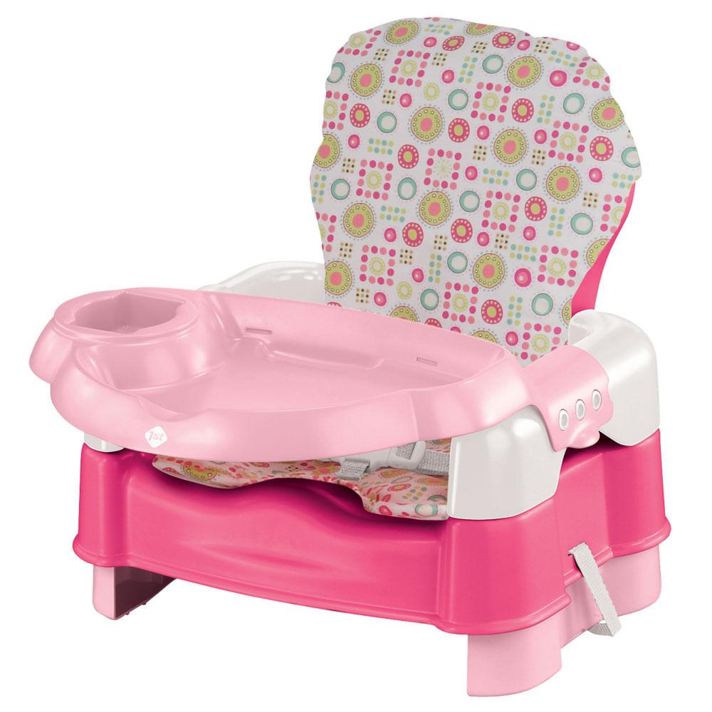 Cadeira para Alimentação Luxo - 5 Estágios - Rosa - Safety 1st