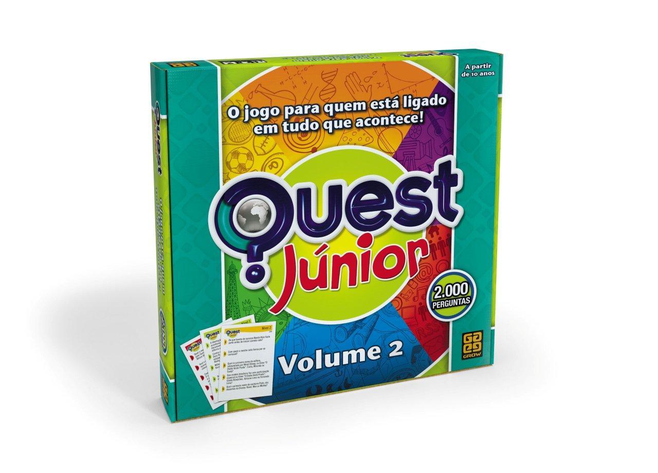 Jogo Quest Junior Volume 2 - Grow