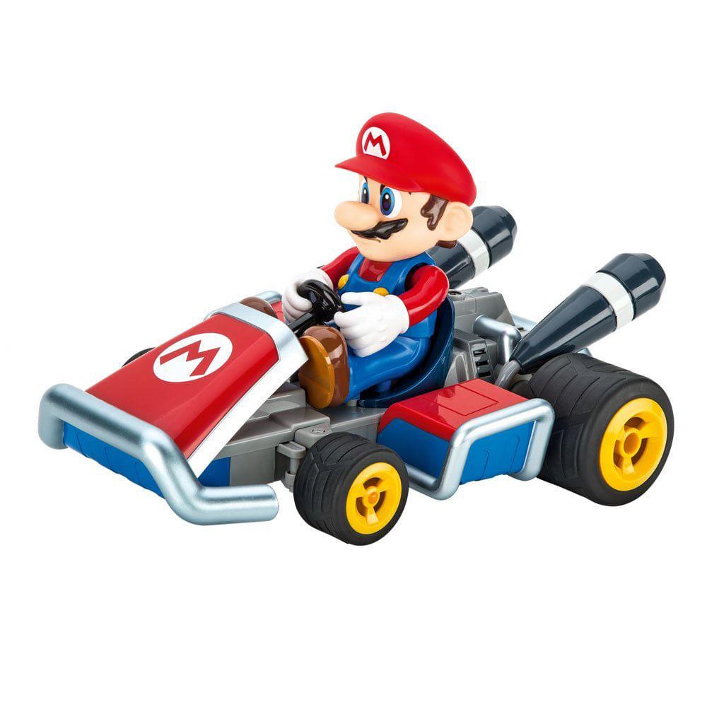 Carro de Controle Remoto - Mario Kart - Mario - Carrera