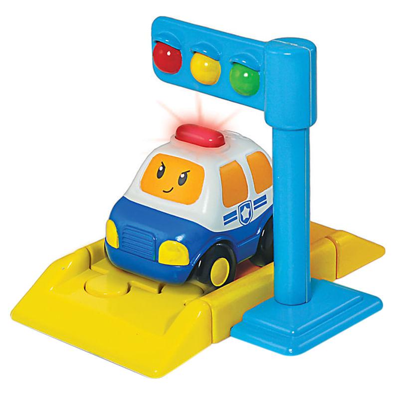 Acessório de Pista - Semáforo - Pequenos Motoristas - Dican