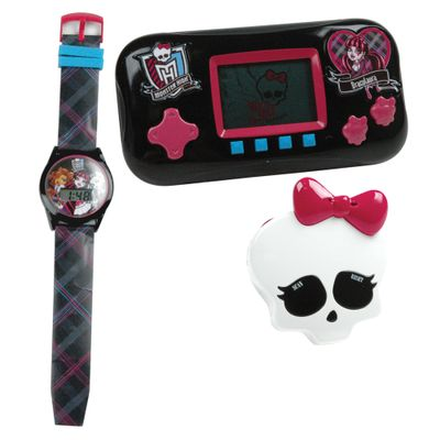Combo-Monster-High-Mini-Game-Relogio-e-Radio-Draculaura-Candide