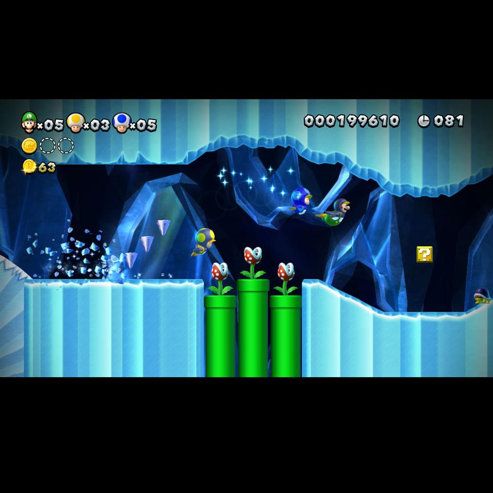 Jogo Nintendo Wii U - New Super Luigi U