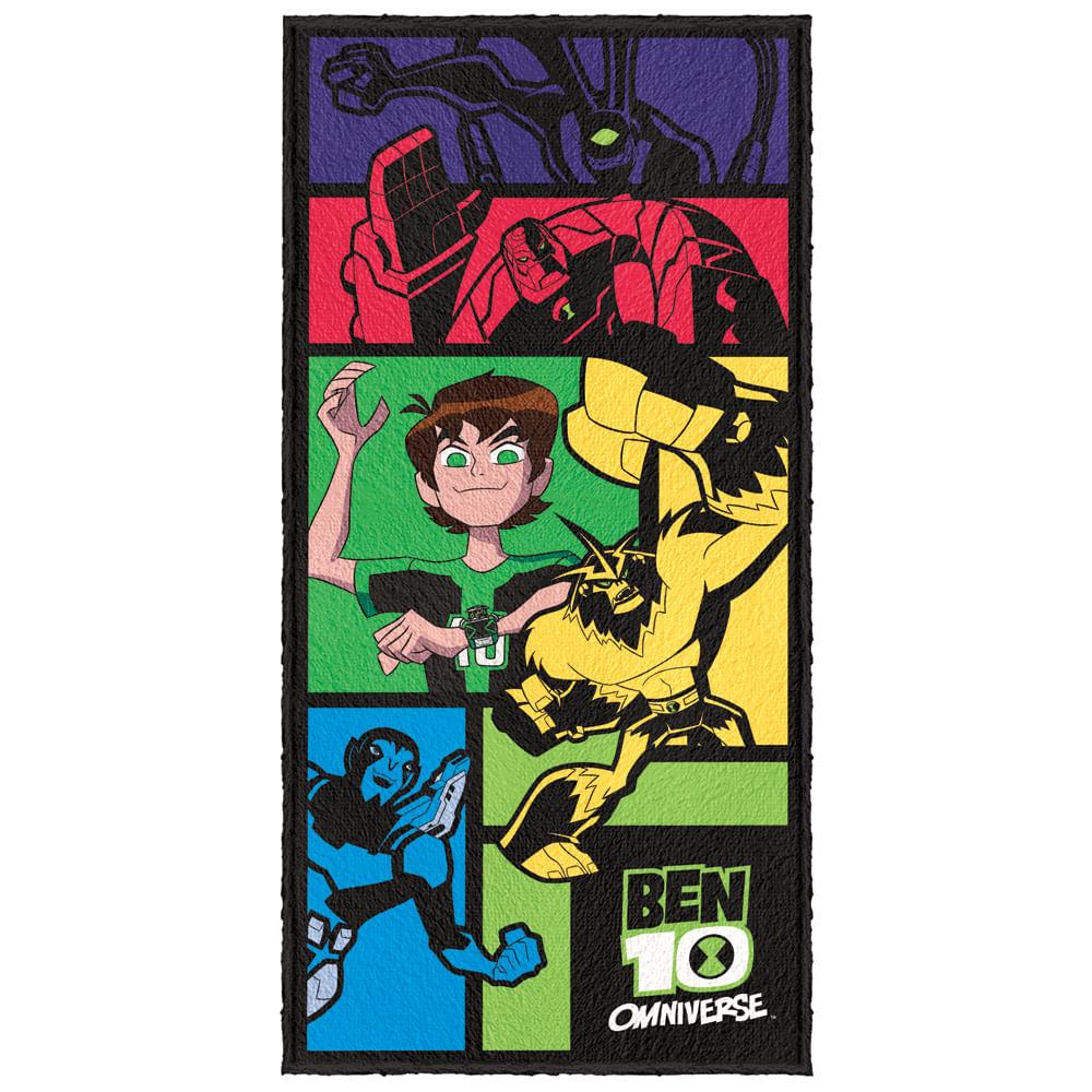 Oferta Toalha de Banho - Ben 10 Omniverse - Modelo 01 - Lepper por R$ 52.9