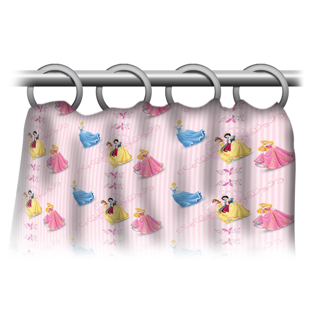 Cortina de Banho Princesas - Gedex