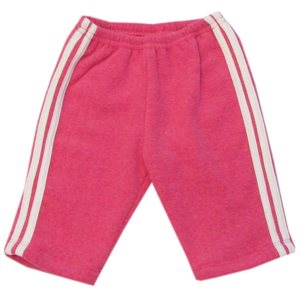 Calça de Soft com Listras - Pink - Tilly Baby - 4