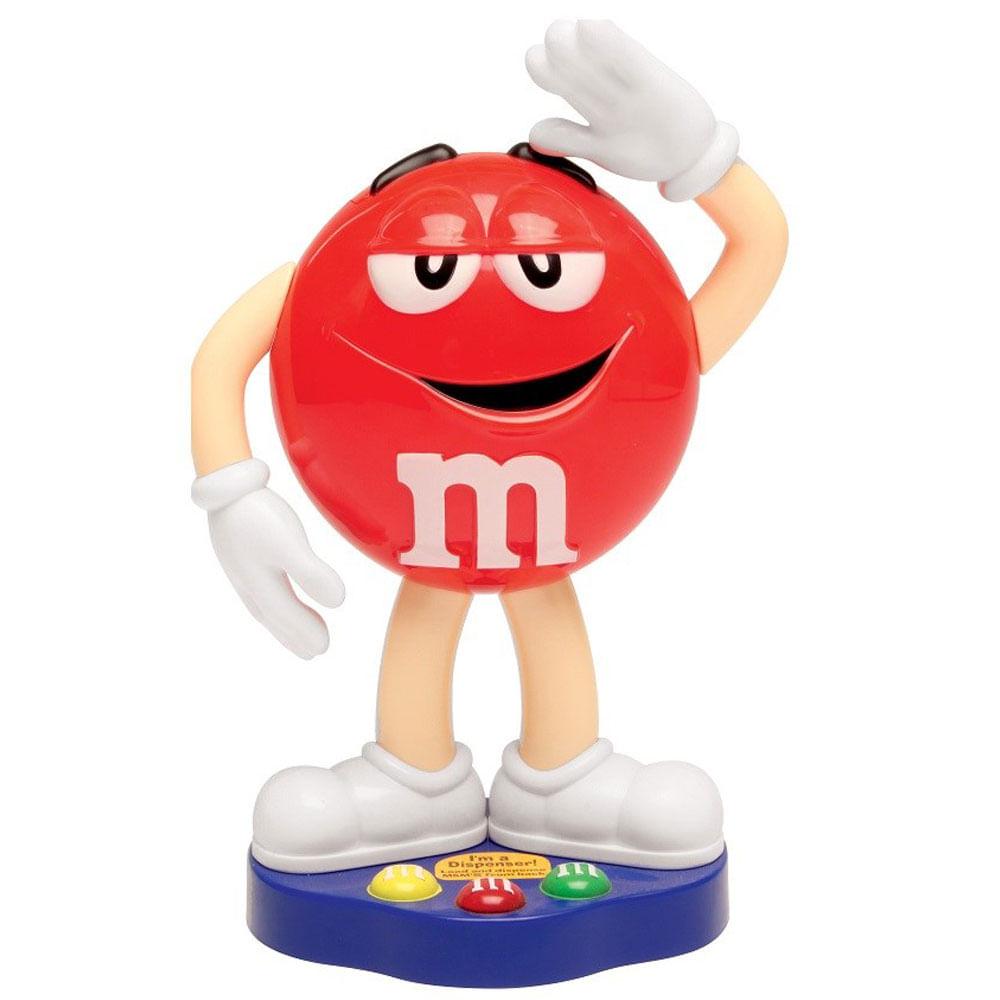 Dispenser - Personagem M&M's Vermelho - DTC