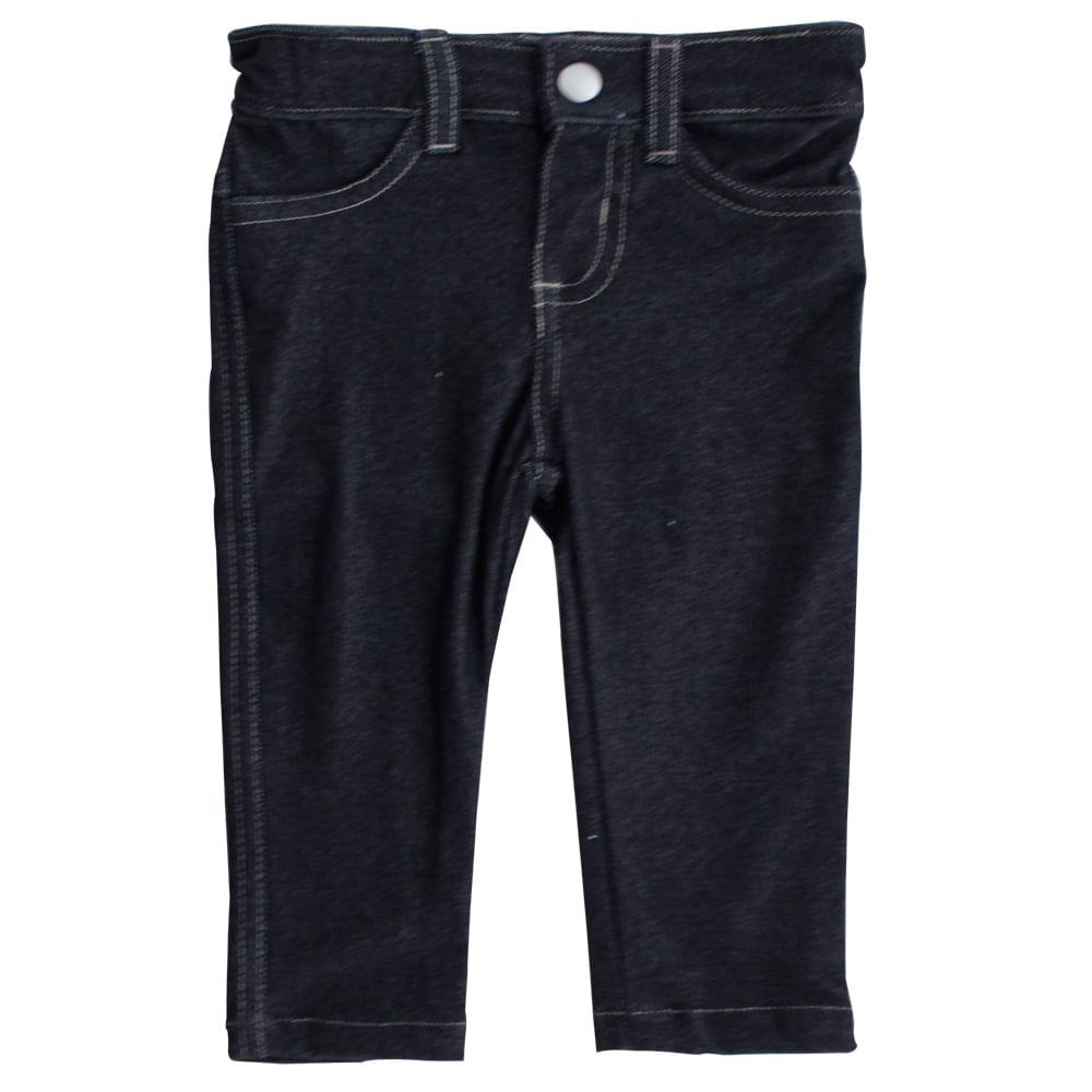 Calça Fleece Joaninha - Jeans - Mini Kids - GBaby - GG