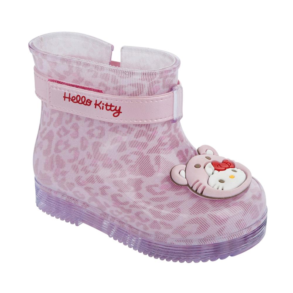 Bota Hello Kitty Pet Baby - Rosa - Grendene - 19 / 20