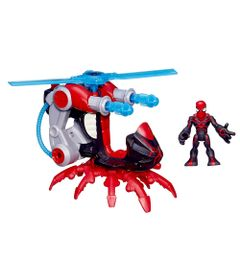 Figura-Spider-Man-com-Arachno-Blade-Copter---Marvel-Super-Hero---Playskool---Hasbro