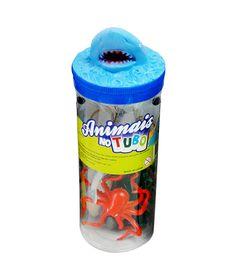 Conjunto-Bichos-em-Miniatura---Animais-no-Tubo---Oceano---Toyng