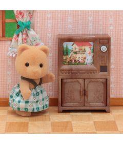 Sylvanian-Families---Irmao-Urso-com-TV---Epoch