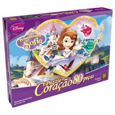 Quebra-Cabeca-Coracao-Princesinha-Sofia---80-pecas---Grow
