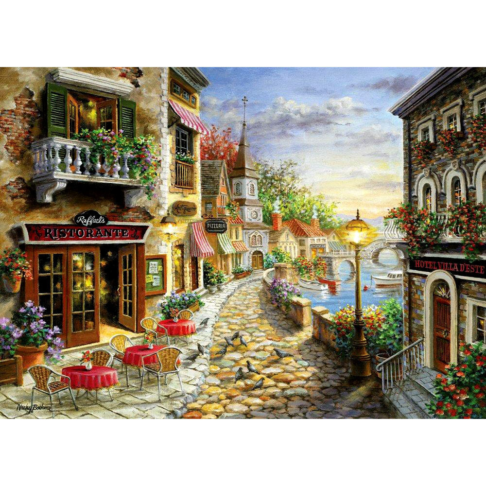 Quebra - Cabeça Mini Villaggio Di Italia - 2000 peças - Grow