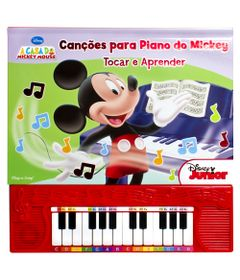 Livro-Disney-Mickey---Cancoes-Para-o-Piano-do-Mickey---DCL