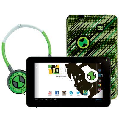 Tablet-Android-4.2-Ben-10-com-Headphone---Tela-7-Multi-Touch-e-Memoria-Interna-8GB---Candide