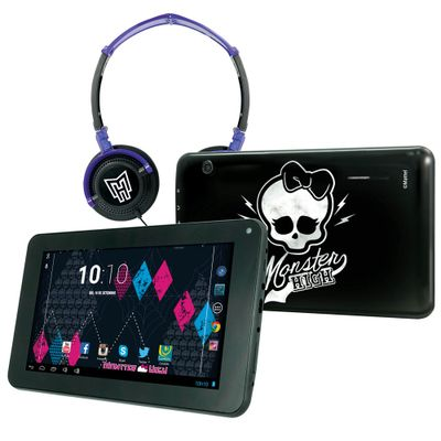 Tablet-Android-4.2-Monster-High-com-Headphone---Tela-7-Multi-Touch-e-Memoria-Interna-8GB---Candide