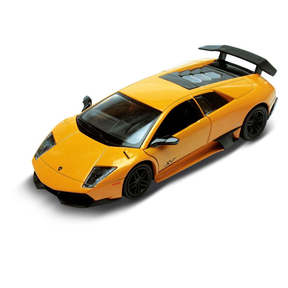 Carrinho Super Marcas - Lamborghini Murcielago LP 670 - 4 SV Laranja - DTC