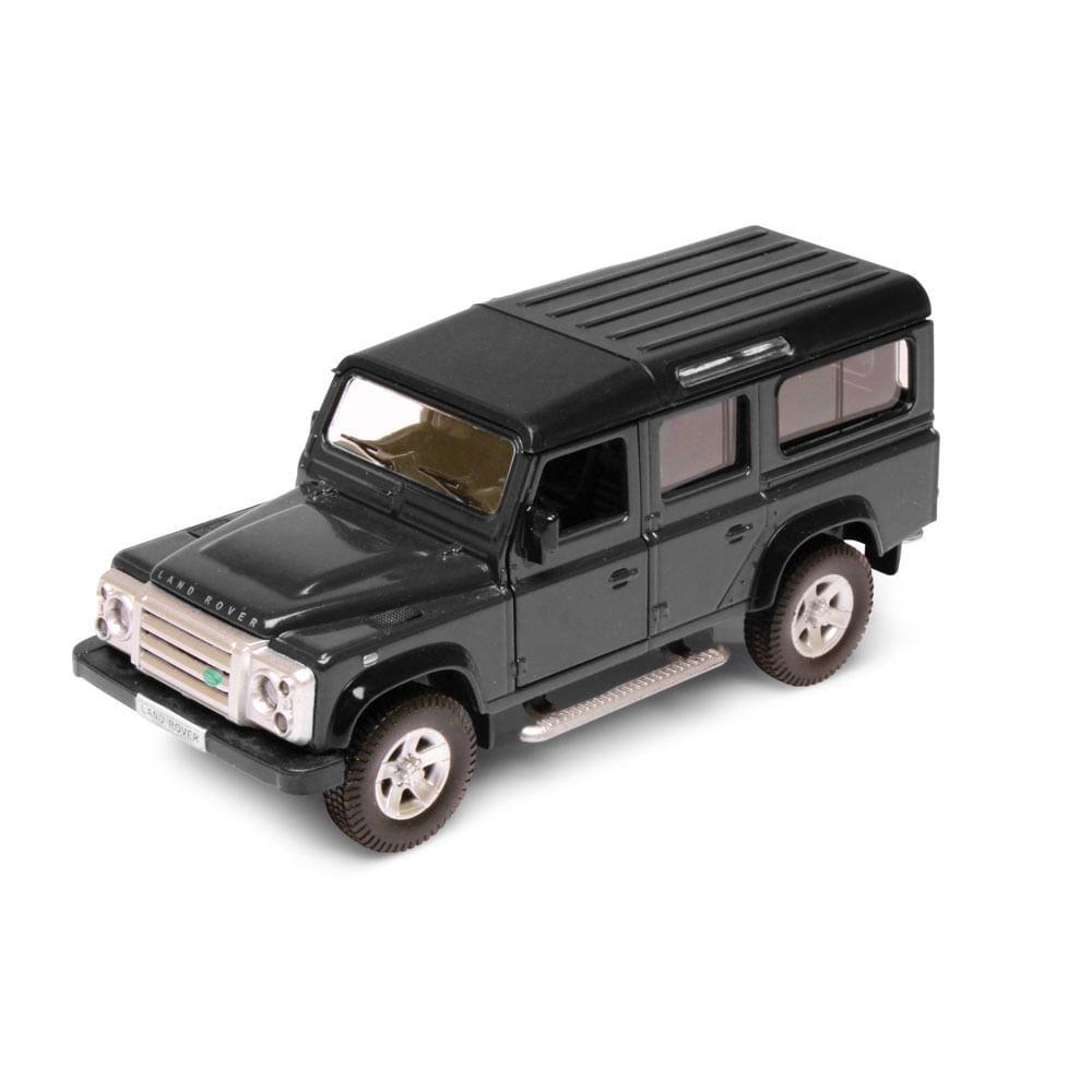 Carrinho Super Marcas FX - Land Rover Defender Preto - DTC