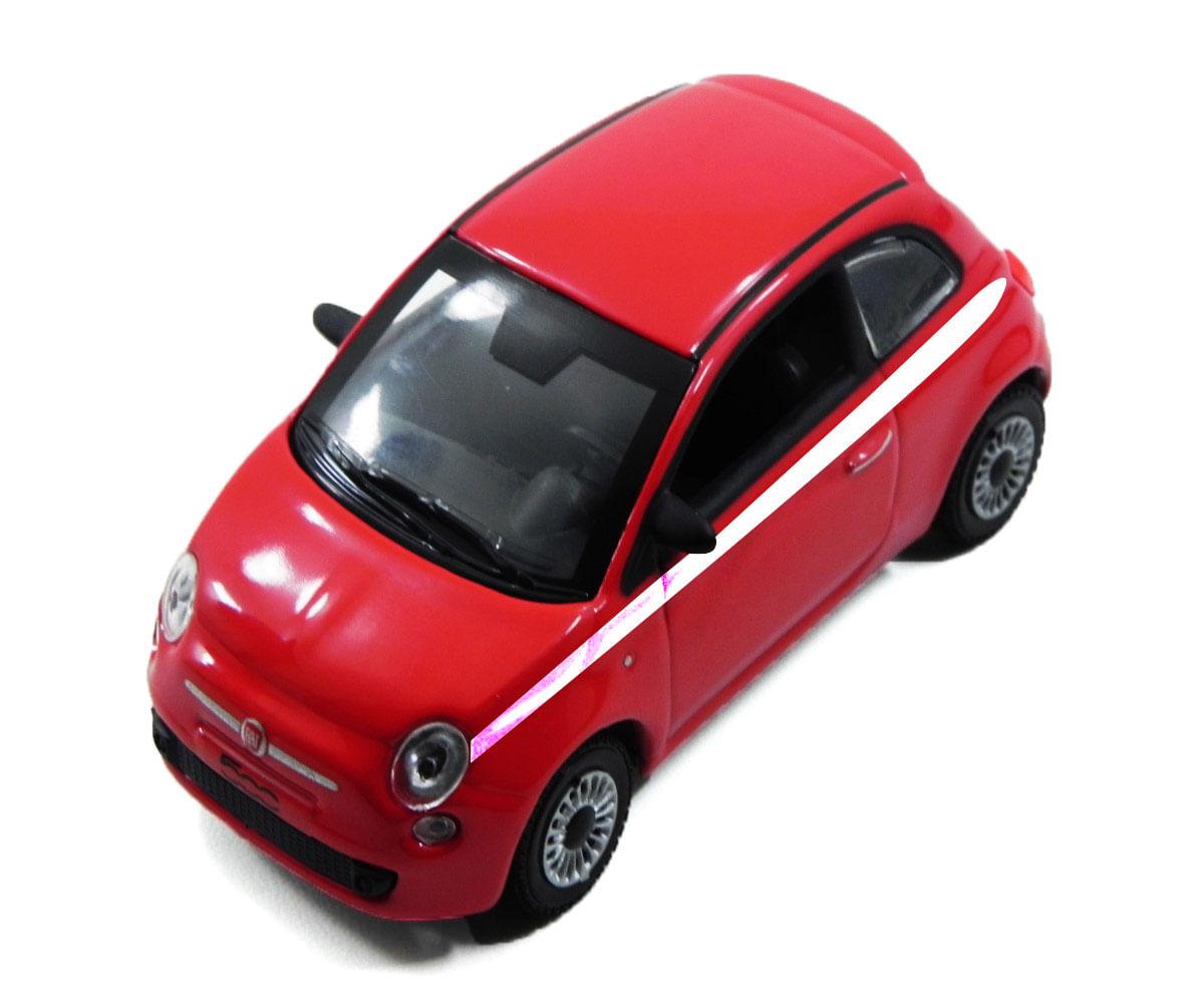 Carrinho Super Marcas FX - Fiat 500 Vermelho - DTC