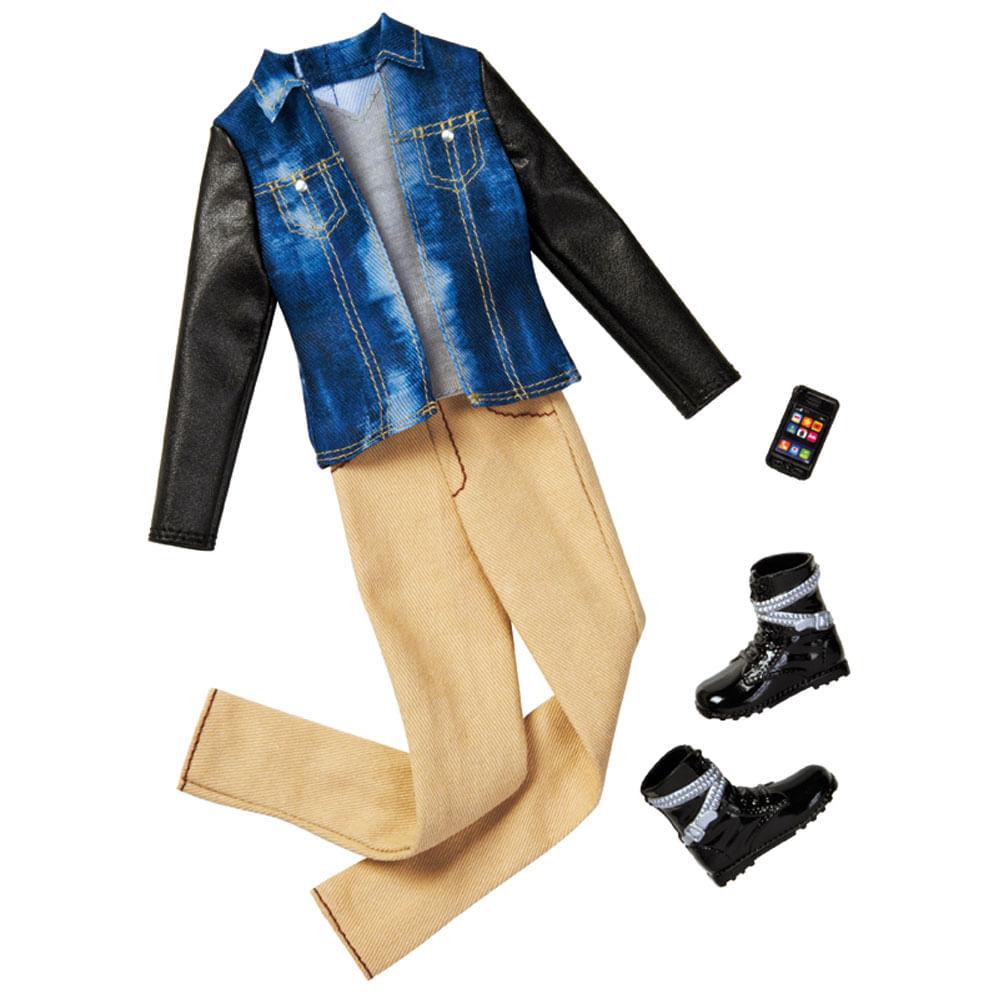 Roupinha para Bonecos Ken Fashionista - Jaqueta Djeans - Mattel