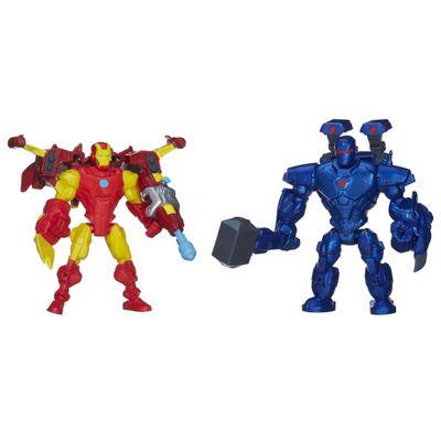 Bonecos-Marvel---Super-Hero-Mashers---Iron-Man-vs-Iron-Monger---Hasbro-1