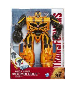 Boneco-Transformers-4---Mega-1-Step-Bumblebee---Hasbro-2