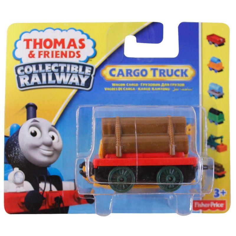 09c09235d Locomotivas Grandes Thomas & Friends Collectible Railway - Vagão de Madeira  - Fisher-Price
