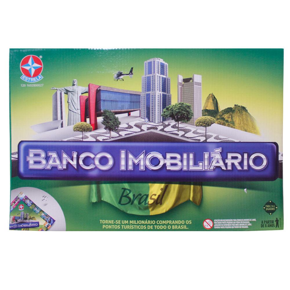 Jogo - Banco Imobiliário Brasil - Estrela