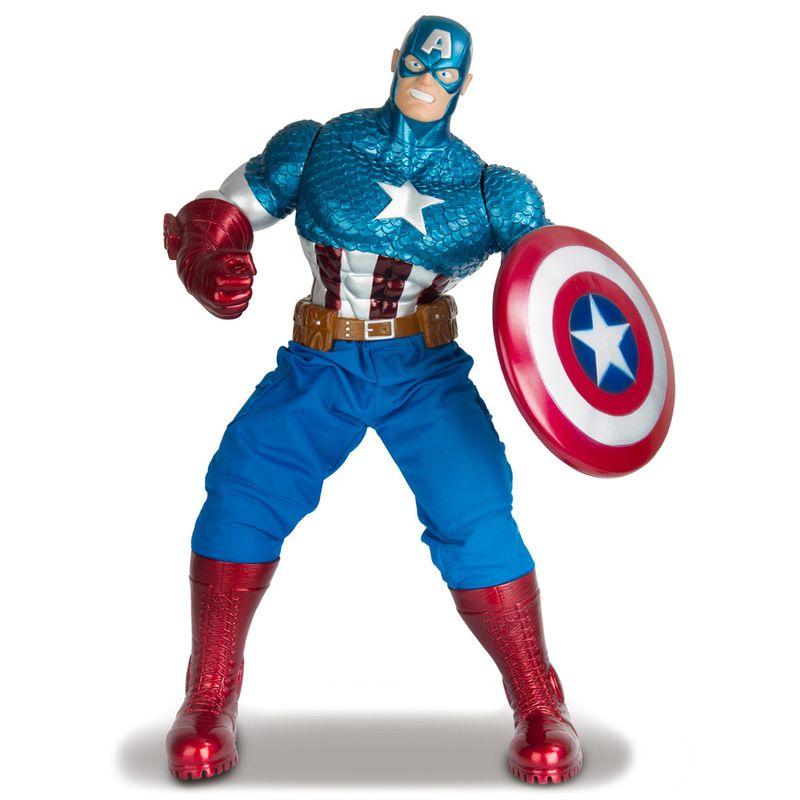 4ff2b86efe Boneco Avengers Premium Gigante - Capitão América - Mimo - Disney - Ri  Happy Brinquedos