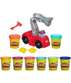 Kit-Play-Doh-Bombeiros-Chuck-e-Friends-Diggin-Rigs-Leve-6-Potes-de-Massinha-pelo-Preco-de-5-Hasbro
