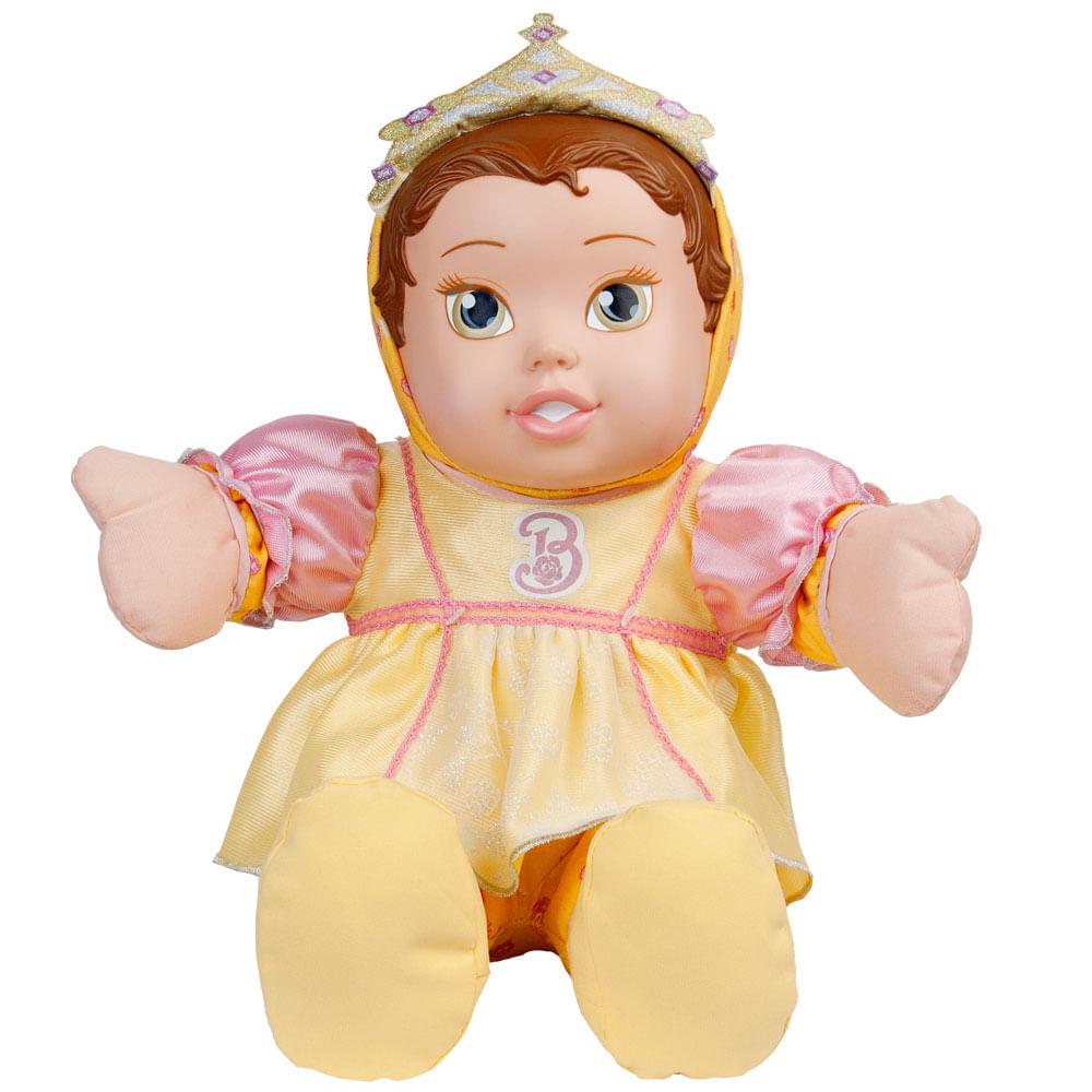 Boneca de Pano - Princesas Disney - Baby Bela - Mimo