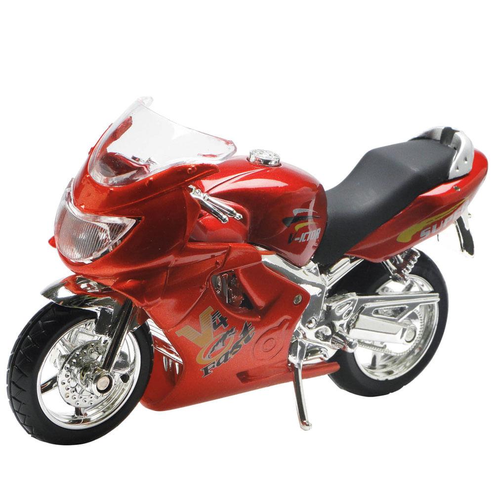 Motocicleta Super Esporte - Vermelha - DTC