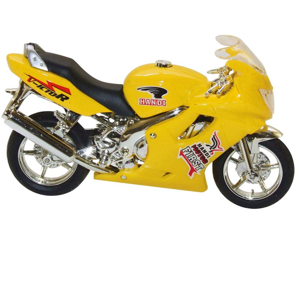 Motocicleta Super Esporte - Amarela - DTC