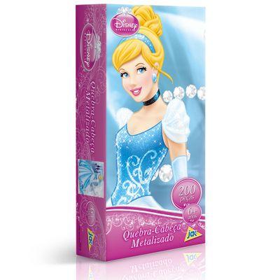 2089---Princesa---Qc-200-pecas-metalizado---Cinderella---Embalagem