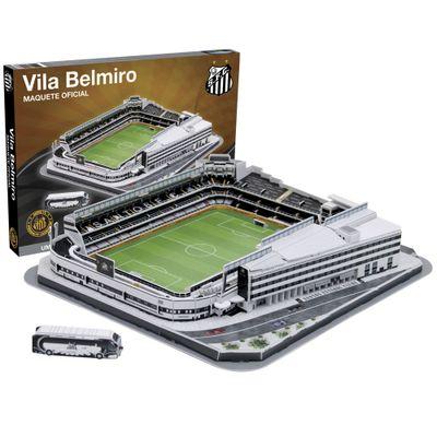 Maquete 3D Oficial - Estádio Vila Belmiro - Nanostad - Ri Happy ... 293ded1aaeb96