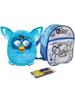 Kit-Pelucia-Interativa-Furby-Boom-Azul-Favorito-Hasbro-Mochila-Furby-para-Colorir-Azul