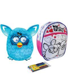 Kit-Pelucia-Interativa-Furby-Boom-Azul-Favorito-Hasbro-Mochila-Furby-para-Colorir-Rosa