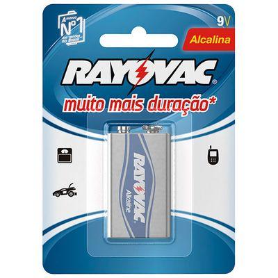 Bateria-Alcalina-Rayovac-9V--6LR61-Quadrada--Cartela-com-1-unidade