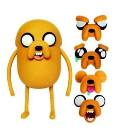 Boneco-Adventure-Time-Deluxe---Jake-Troca-Faces---25-cm---Multikids