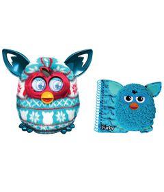 Kit-Pelucia-Interativa---Furby-Boom-Festive-Sweater---Hasbro---Caderno-com-Espiral-Medio-Azul