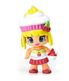 Mini-Boneca-Pinypon---Cupcake-Amarelo-e-Branco---Multikids